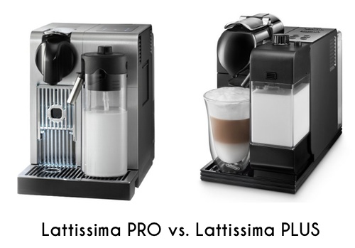 Lattissima PRO vs PLUS